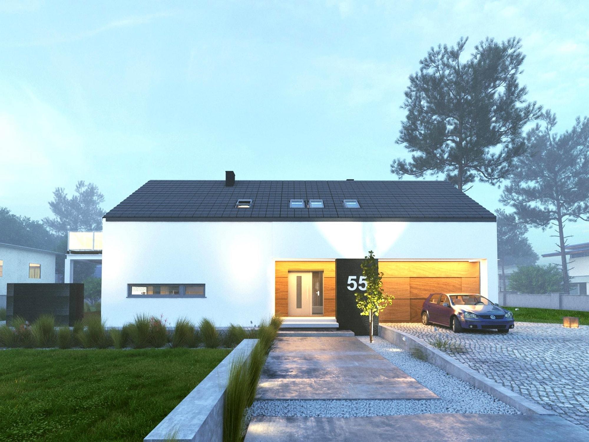 Dom energooszczędny w Skierniewicach